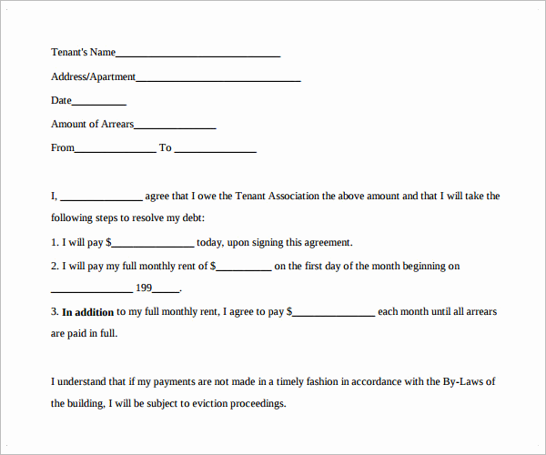 Free Payment Agreement Template PDF  Monthly Payment Contract Template