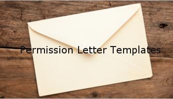 Free Permission Letter Templates