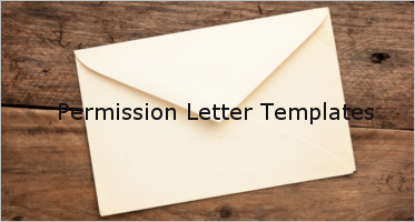 Free Permission Letter Templates