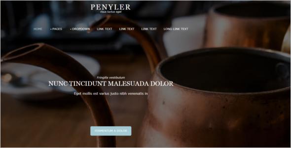 Free Website Design Template