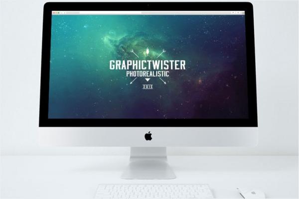 Free iMac Mockup Design