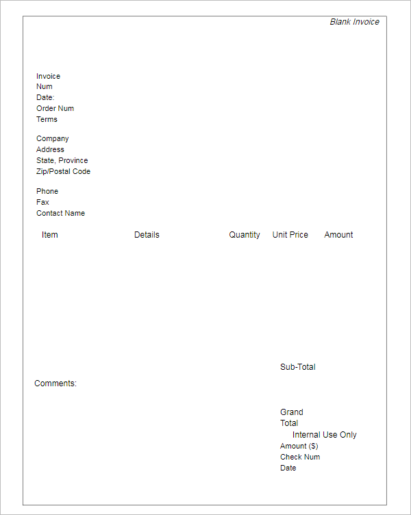 Freelance Writer Invoice Template  Freelance Writer Invoice Template