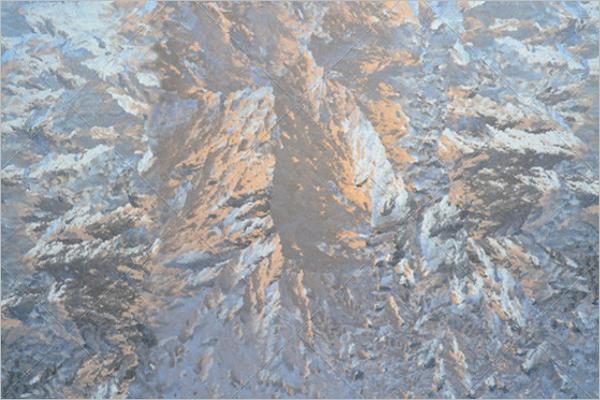 Frozen Glass Texture Template