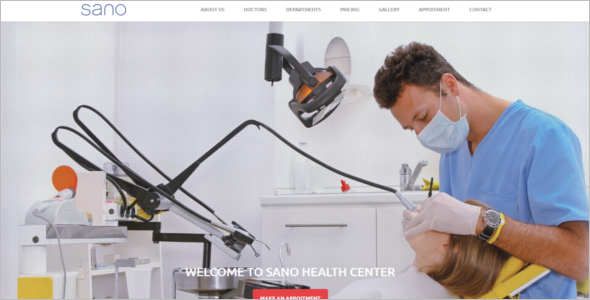 Fully Responsive Health Care HTML Template