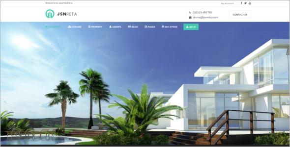 Functional Real Estate Joomla Template
