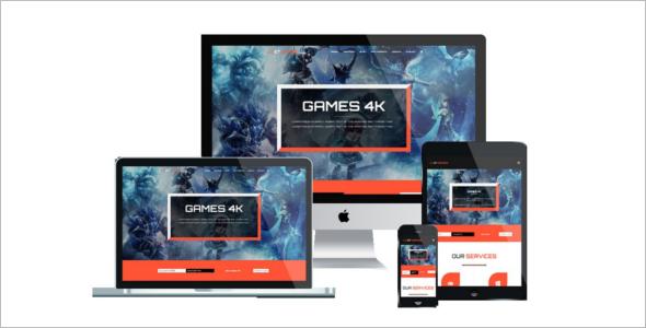 Gaming Joomla Template