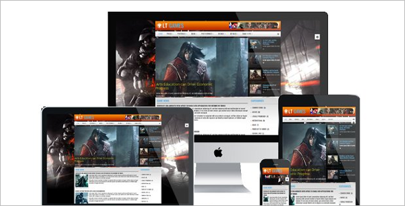 31+ Gaming Joomla Templates Free Website Templates