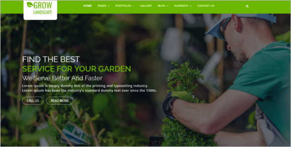 Gardening HTML5 Agriculture Theme