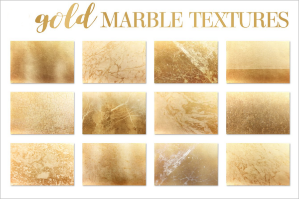 Gold Marble Abstract Background Texture