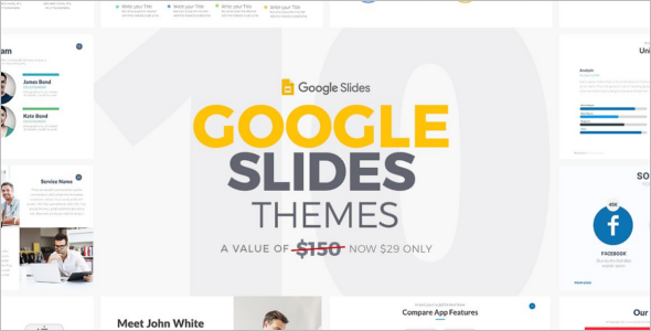 Google Slides Website Theme