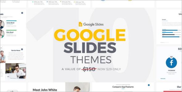 Google Slides Website Theme