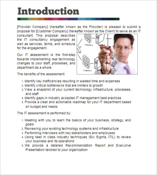 Grant Proposal Format PDF