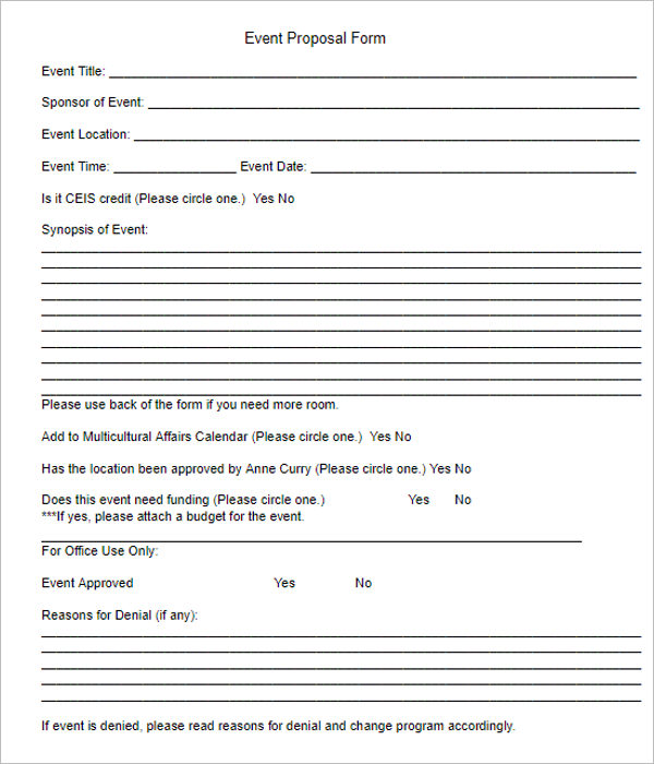 grant proposal template free download