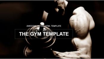 Gym HTML5 Templates