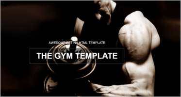 Gym HTML5 Templates