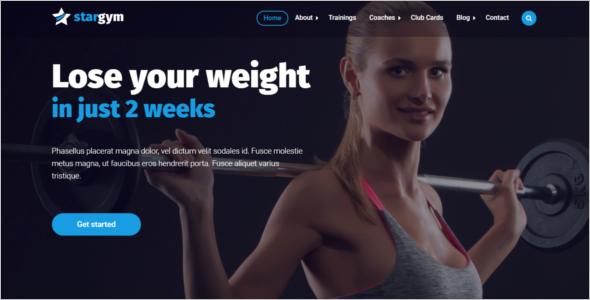 Gym HTML5 Template