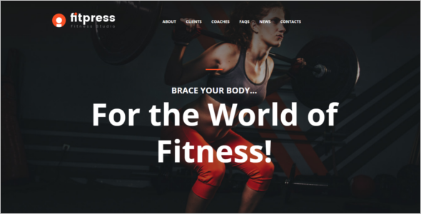 Gym Moto HTML Template