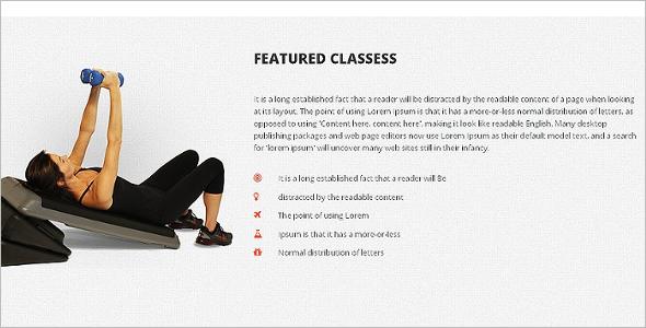Gym Responsive HTML5 Template