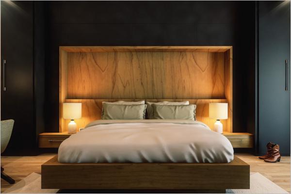 HD Bedroom Texture Design