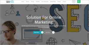 HTML Bootstrap Google Template