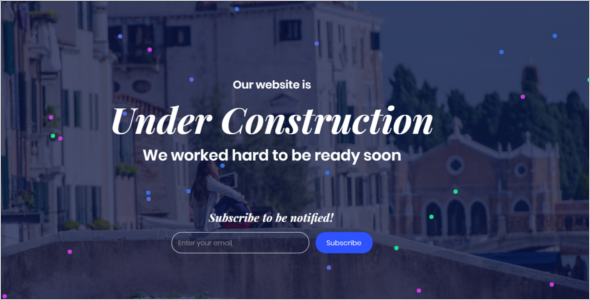 HTML Coming Soon Generator