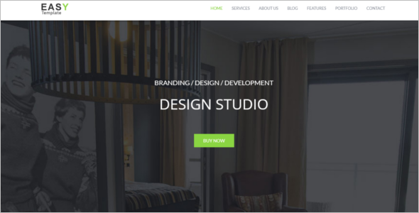 HTML Portfolio Website Theme