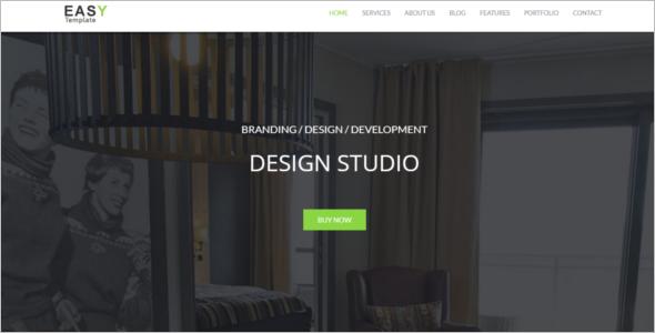 HTML Portfolio Website Theme
