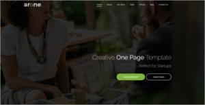 HTML Website Template