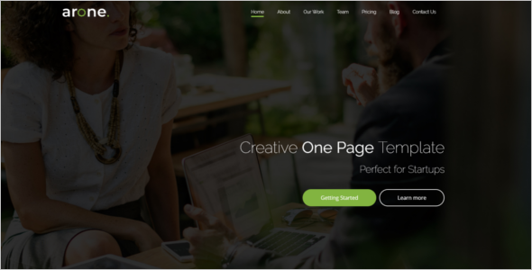 HTML Website Template
