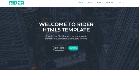 HTML5 Animated Banner Template –