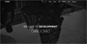 HTML5 Animated Theme