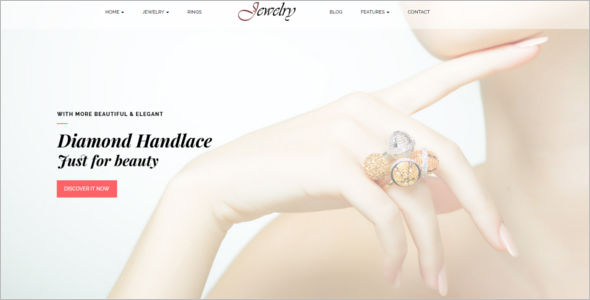 HTML5 Jewelry Website Template