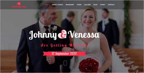 HTML5 Responsive Wedding Template
