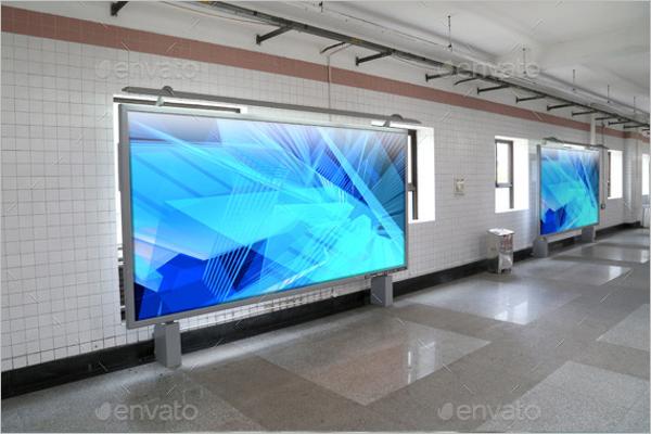 HallPoster Mockup Interior Design