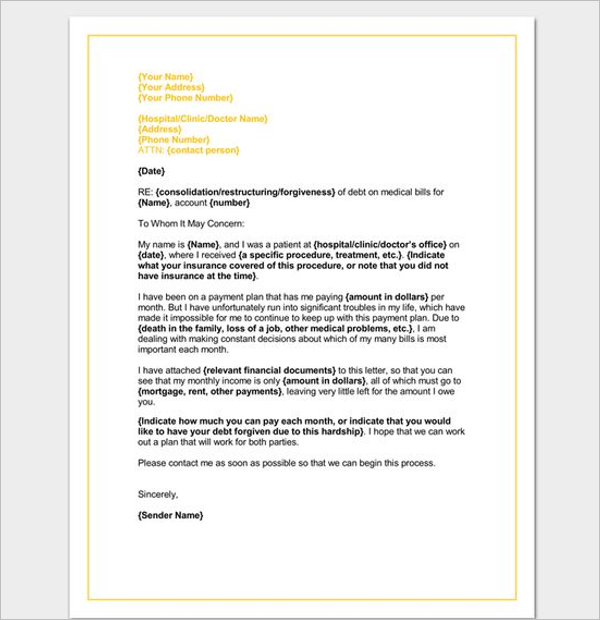 36 hardship letter templates free pdf examples creative template hardship letter format altavistaventures Images