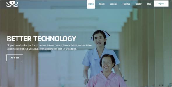 Health Service HTML5 Template