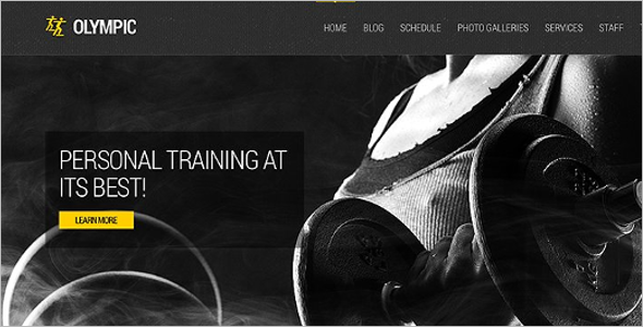 Health Fitness HTML Template