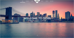 High Quality Animated Website Template