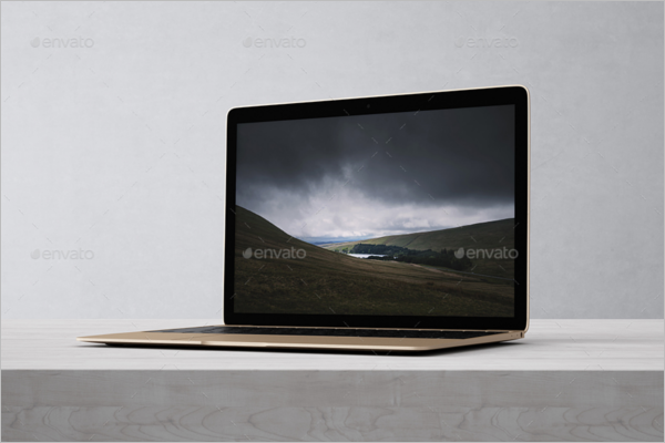 High Quality Laptop Mockup Design
