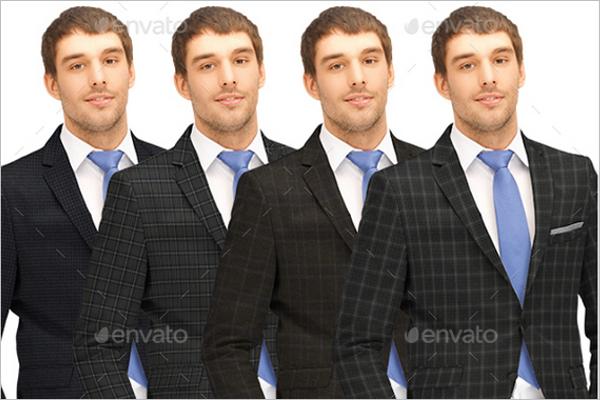 High quality Suit Mockup Design