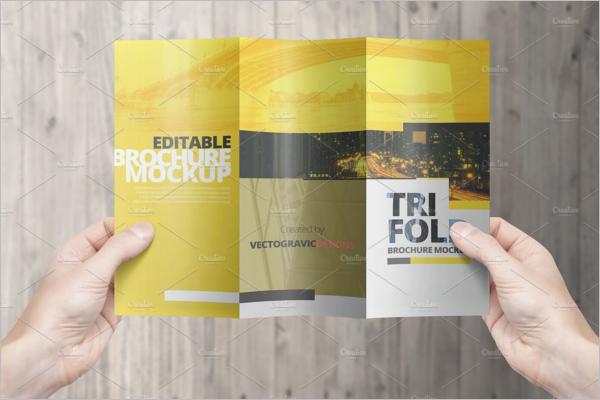 High resolutionCorelDraw Brochure Template