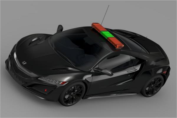 Honda NSX Car Design