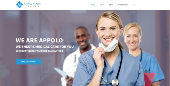 Hospital HTML5 Template