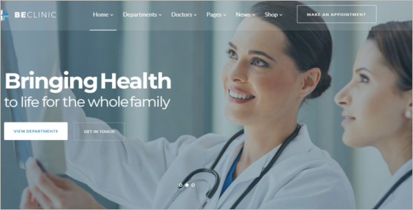 Hospital Website Template HTML5