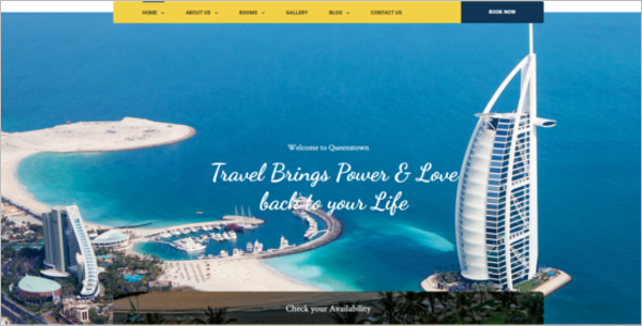 Hotel Business HTML5 Template