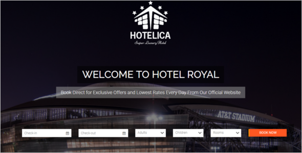Hotel CSS3 & HTML Template