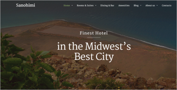 Hotel Room Booking HTML Template