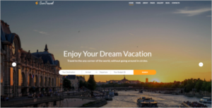 Hotel Website Design Template