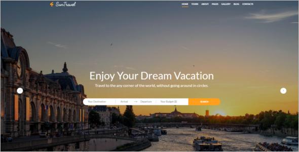 Hotel Website Design Template