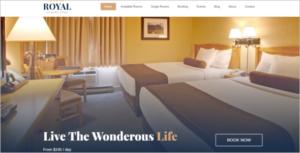 Hotel Website Template